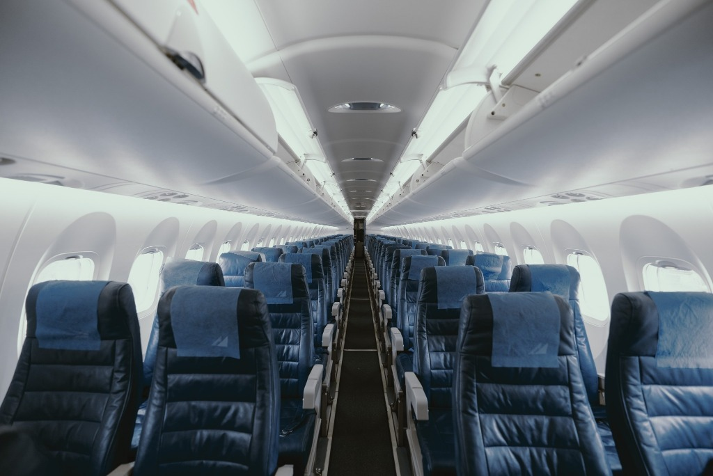 Empty Airliner